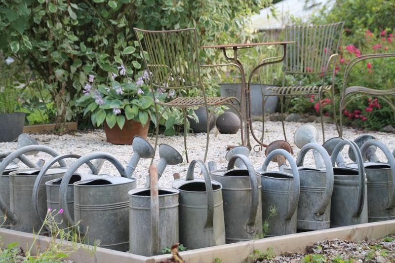 L e jardin de la poterie